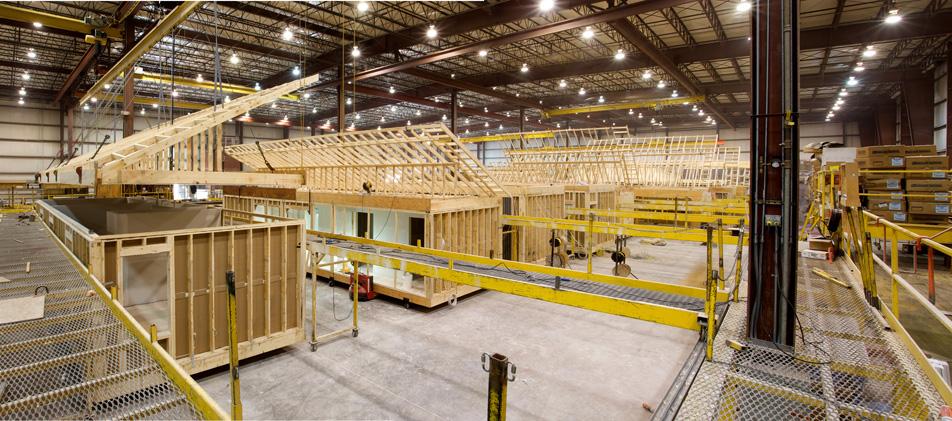 Factory built modular home