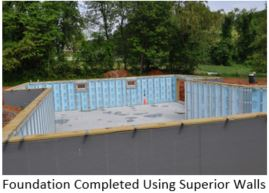 Blog - Modular Home assembly - P1 - foundation pic